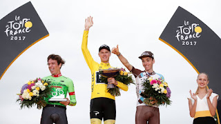 CICLISMO EN RUTA - Chris Froome es tetracampeón del Tour de Francia. Mikel Landa se quedó a un segundo de subir al podio