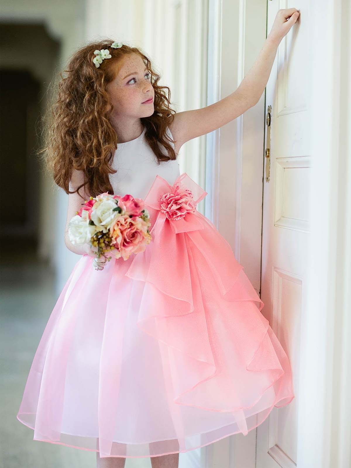 07451a68ee2 StyloceIn  Tis the Season for Flower Girl Dresses and Children s ...
