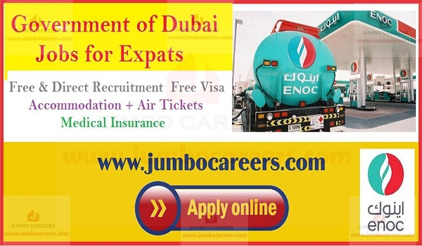Government Jobs in Dubai 2019 for Expats | ENOC Dubai Staff