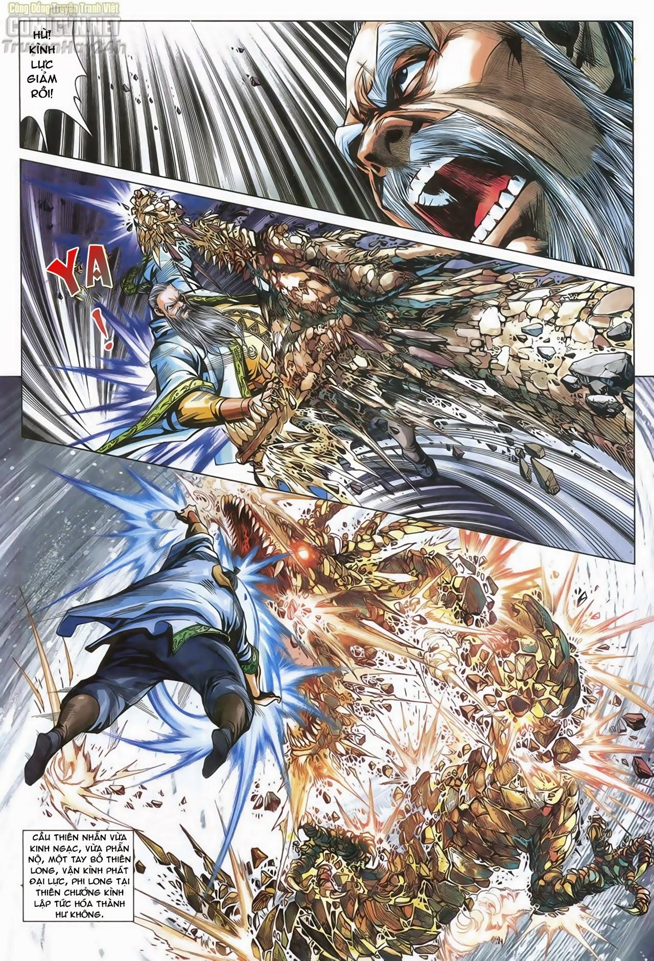 Anh Hùng Xạ Điêu anh hùng xạ đêu chap 67: quyết chiến hiên viên đài trang 22