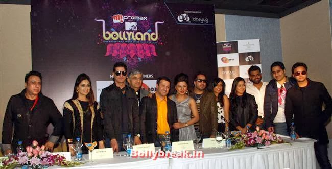 MTV Bollyland Music Festival Press conference and preview
