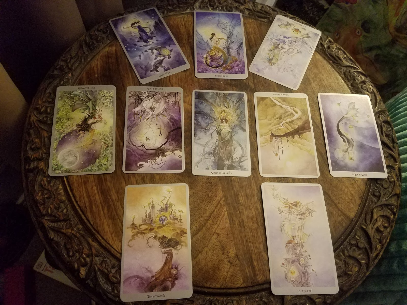 Vision Seeker: The Wide World (Day 12) ~ Lucid Tarot