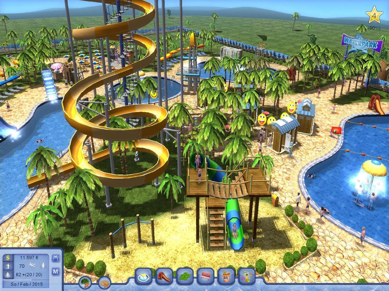Theme Park Building Games Pc