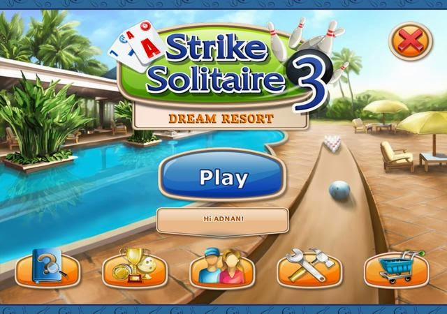 AB Official Site: Strike Solitaire 3 - Dream Resort