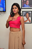 Akshita super cute Pink Choli at south indian thalis and filmy breakfast in Filmy Junction inaguration by Gopichand ~  Exclusive 017.JPG