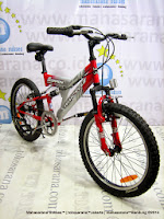 20 Inch Wimcycle Scorpion 6 Speed Junior Mountain Bike