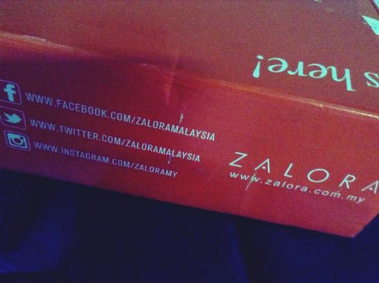 Pengalaman Pertama Shopping Online Zalora Malaysia