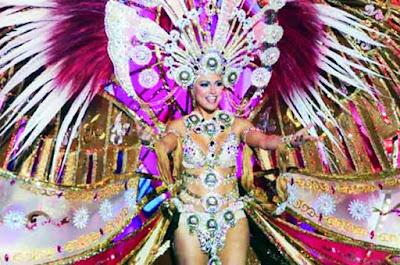 La nueva reina del Carnaval de Las Palmas de Gran Canaria  es Esther Pérez, Carnaval de la Eterna Primavera
