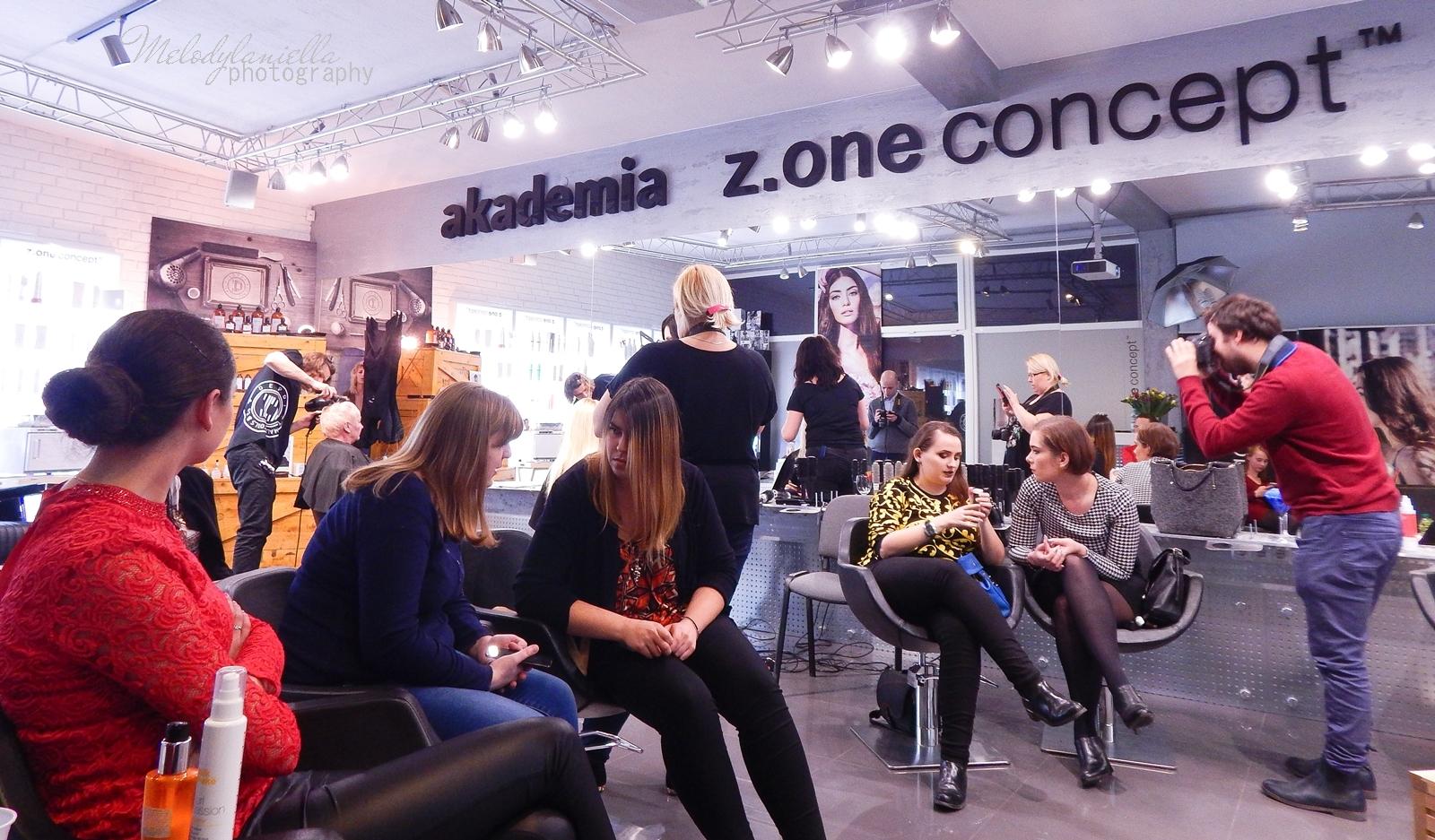 20  relacja spotkanie blogerek akademia z.one concept łódź szkolenia dla fryzjerów akademia fryzjerska koloryzacja melodylaniella jak dbać o włosy pielęgnacja koloryzacja włosów