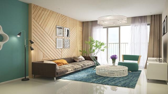 Thiết kế bố trí phòng khách Florence