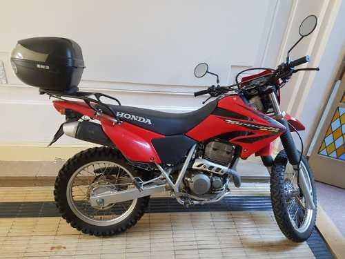 Honda Xr 250 Tornado Roja 2019 Motos Honda En Cuotas