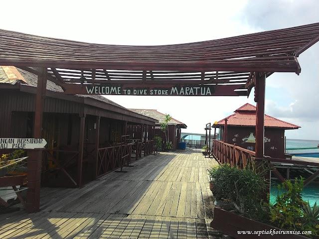 Maratua Island menjadi salah satu destinasi favorit para turis