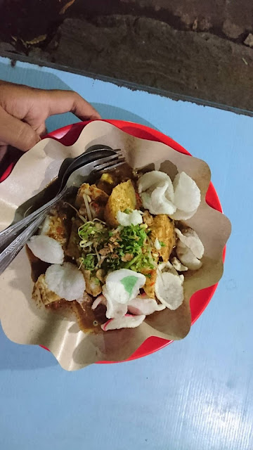 Tahu Telor Tenda Biru Piridifoodies Food Blogger