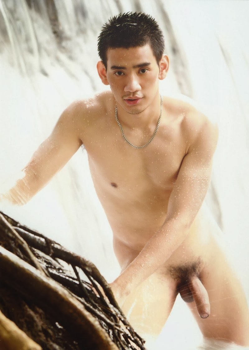 Hot naked asian man