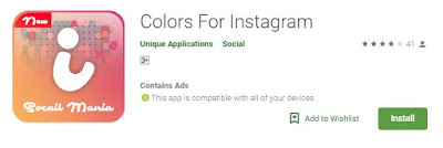 color for instagram