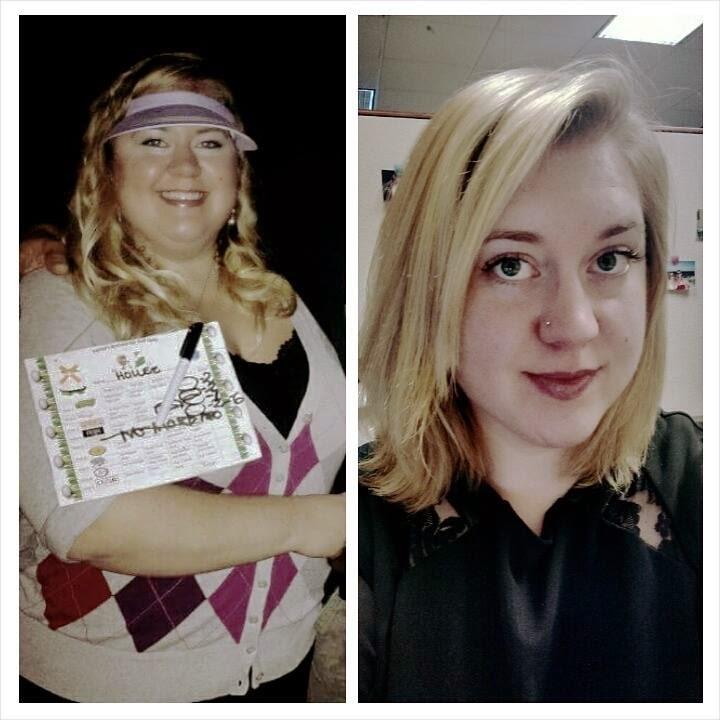 Hollee's Weight Loss Success Story ((in progress)): Progress