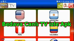 Bedava Canlı TV izle Android ile Chiporro TV Apk