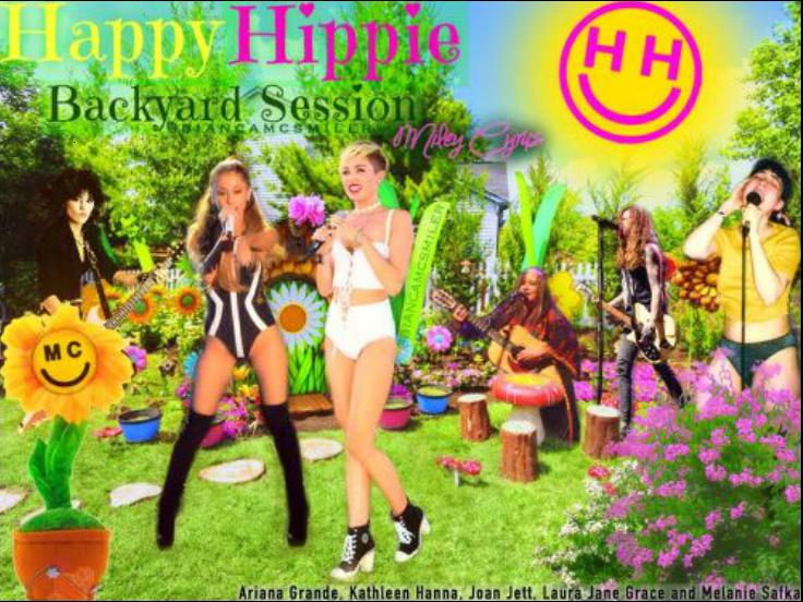 Miley Cyrus   Happy Hippie Backyard Sessions [SBD]