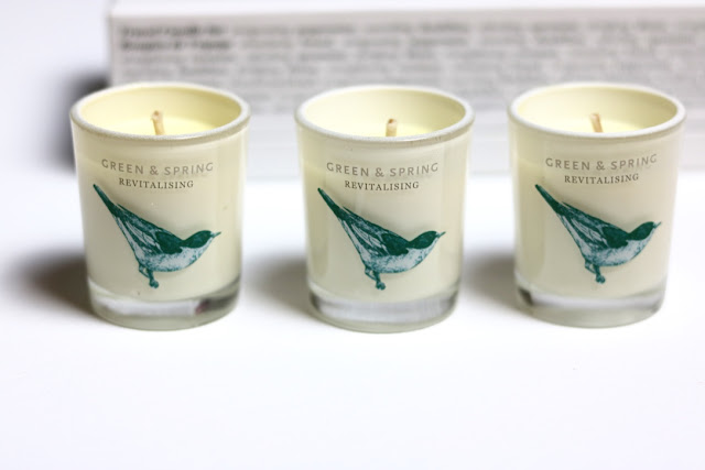 Green & Spring Candles