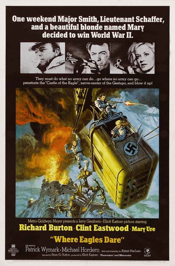 Brian G  Hutton: Director of WHERE EAGLES DARE & KELLY'S HEROES