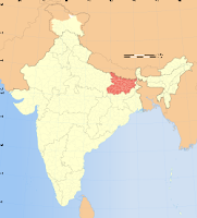 state of bihar map