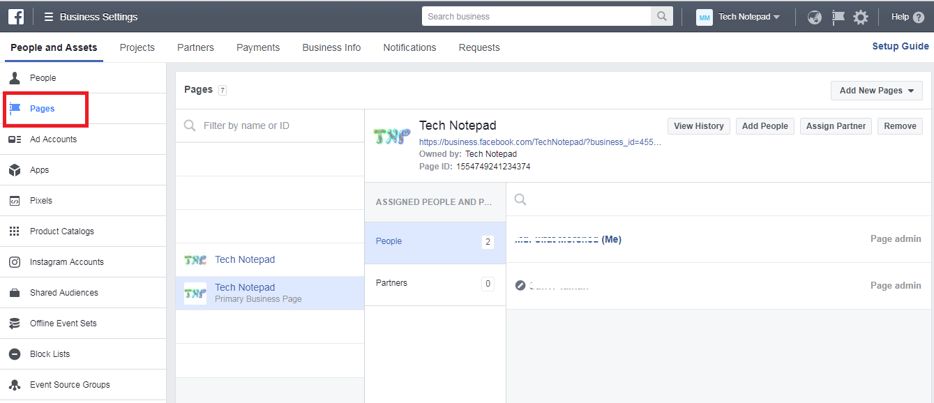 How to claim ownership of a FB Page so that other Page