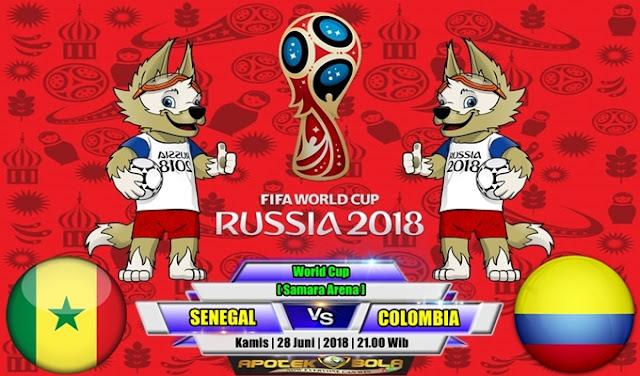 Prediksi Senegal vs Colombia 28 Juni 2018