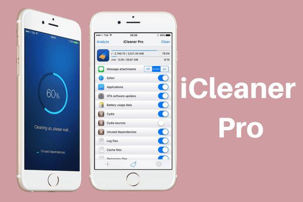 iCleaner Pro Aplikasi cleaner  terbaik di iPhone iPod dan iPad
