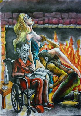 Έκθεση ζωγραφικής γελοιογραφίας IaTriDis