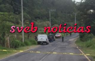Hallan un ejecutado en Chiltoyac Veracruz este Martes