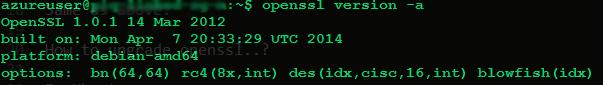 OpenSSL New Version