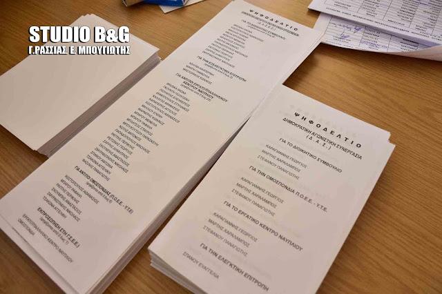 Πως προκλήθηκε η ένταση στις εκλογές του Σωματείου υπαλλήλων καφεζυθεστιατορίων-ξενοδοχείων ύπνου Ναυπλίου (βίντεο)