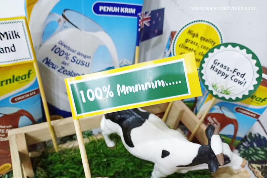 food review, fernleaf, susu dari new zealand, lembu tenusu, 100% Mmmmm,