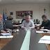 Συνάντηση του Αντιπεριφερειάρχη Π.Ε. Φλώρινας με τον Δήμαρχο Αμυνταίου και στελέχη της Δ.Ε.Τ.ΕΠ.Α. για θέματα που αφορούν την τηλεθέρμανση Αμυνταίου
