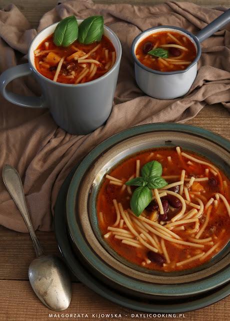 jak zrobić zupę pomidorową, sprawdzony przepis na zupę pomidorową, zupa pomidorowa z mielonym mięsem, daylicooking