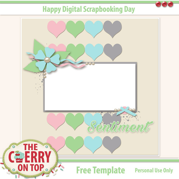 The cherry on top mega freebies for digital scrapbooking day with kristin cronin barrow works up some mega magic with her kit farewell to summer ella is putting the perfect light on this kit with her scrappy genius pronofoot35fo Image collections