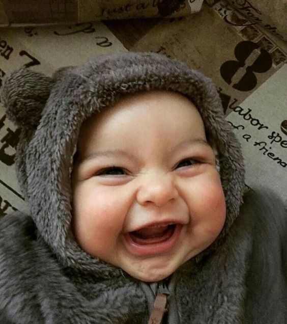 Beautiful Baby Photo With A Smile
