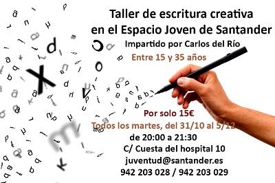 Taller de escritura creativa en Santander