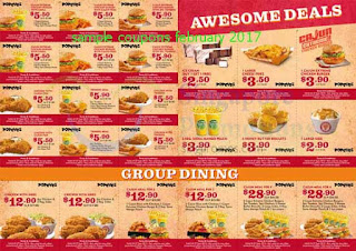 free Mcdonalds coupons for february 2017