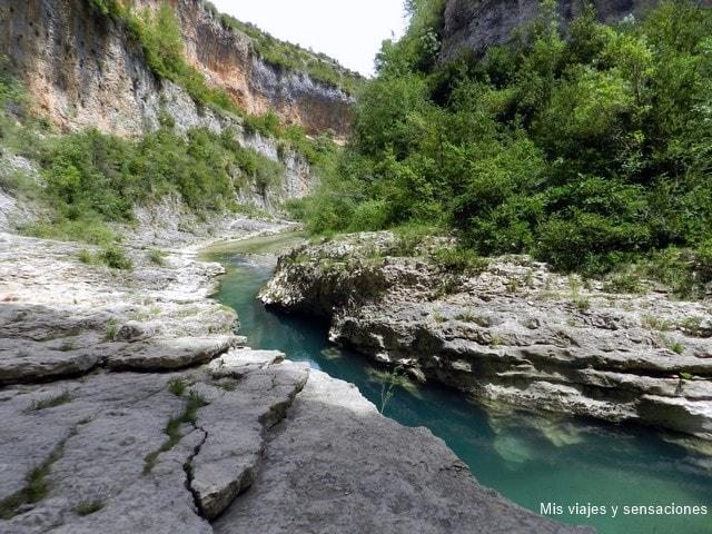 Cañón del río Vero, Sierra de Guara