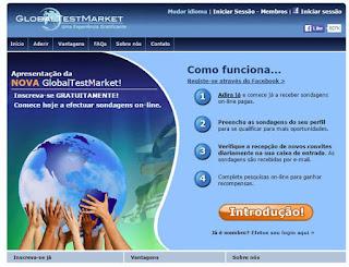 GlobalTestMarket é confiável?