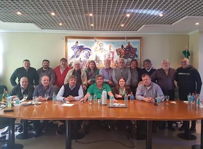 Con Siley, Pignanelli, Moyano, Plaíni, Correa y Amichetti entre otros, se constituyó el Frente Sindical para el Modelo Nacional