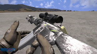 arma3に狙撃銃を追加するGPS sniper and Marksman Weapons MODのMk 12 SPR