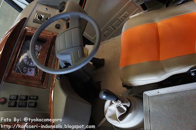 Ruang Sopir Jetbus MD