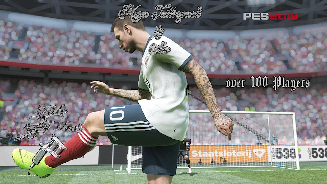 PES 2019 Mega Tattoopack 108 Players dari Sho9_6