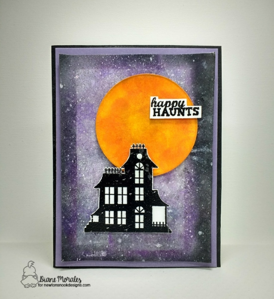 Happy haunts by Diane features Spooky Street by Newton's Nook Designs; #newtonsnook