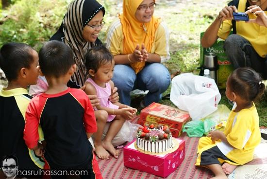 Idea untuk jadikan hari keluarga meriah