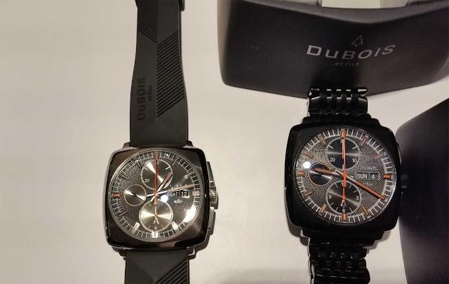 Sportliche Dubois Uhren Modelle auf der Munichtime 2015