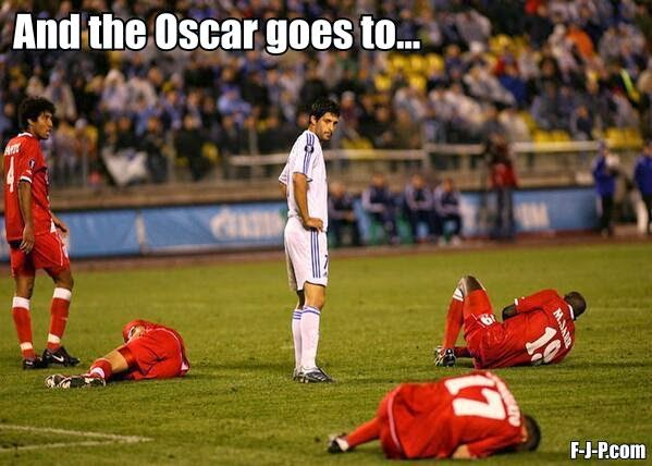 Funny Football Injury Oscar Meme Joke Picture