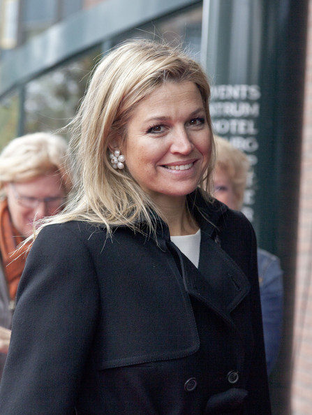 Dutch Crown Princess Maxima attended the AfricaWorks 21st Century Trends Conference in Zeist. The conference is organized by the African Studies centre